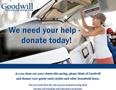 Donations Request Email